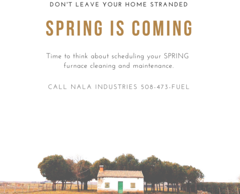 NALA Heating System Spring Cleaning